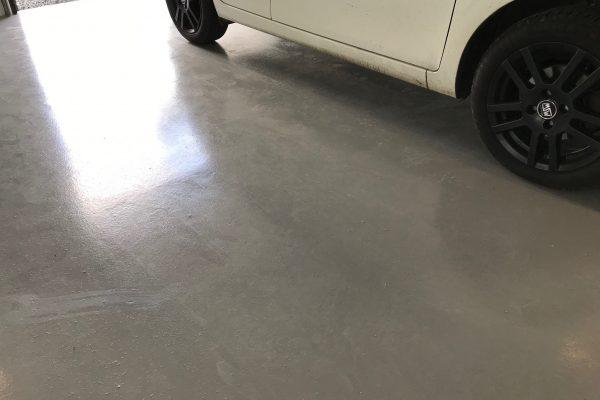 Epoxy/Polyurethangulve garage